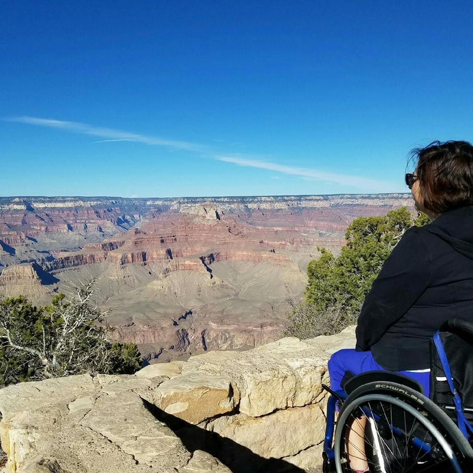 Helen looking at Grand Canyon.jpg